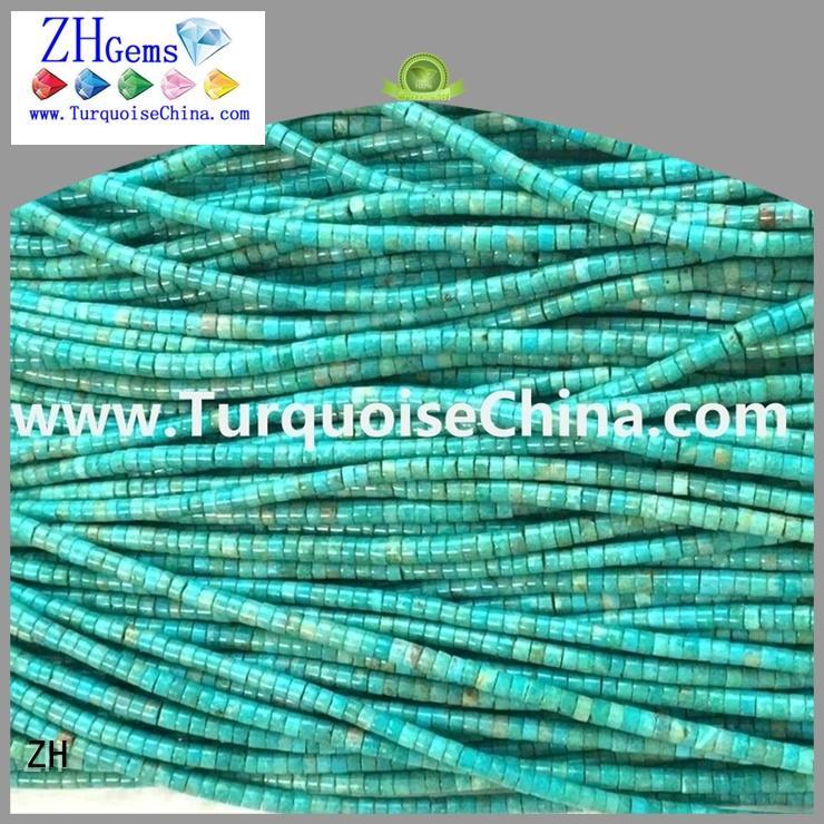 ZH turquoise heishi beads supplier for bracelet