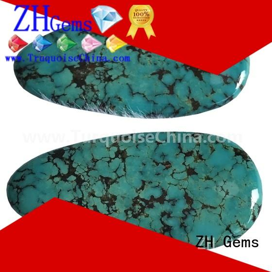 good quality turquoise cabochon supply for ring