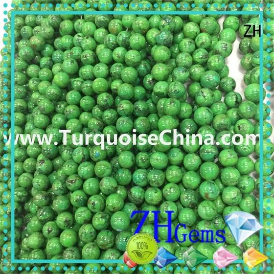 ZH wholesale turquoise supply for bracelet