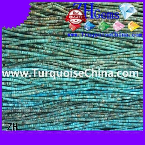 beautiful turquoise heishi business for necklace