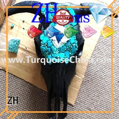 ZH real turquoise beads reliable supplier for necklace