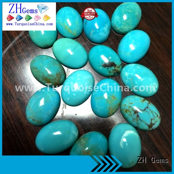 top quality loose turquoise stones wholesale supplier for jewelry making
