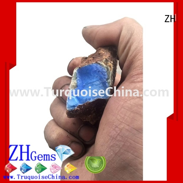 ZH raw turquoise supply for bracelet