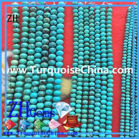 ZH round gemstone beads wholesale professional supplier for jewellery making