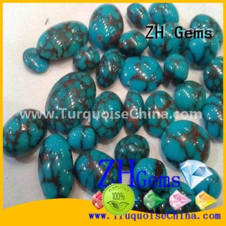 ZH Gems good quality natural stone cabochons supply for jewelry