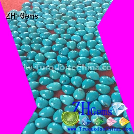 ZH Gems great pear shaped cabochons supply for jewelry