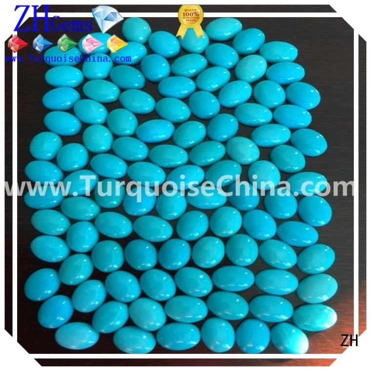 ZH best sleeping beauty turquoise stone reliable supplier for bracelet