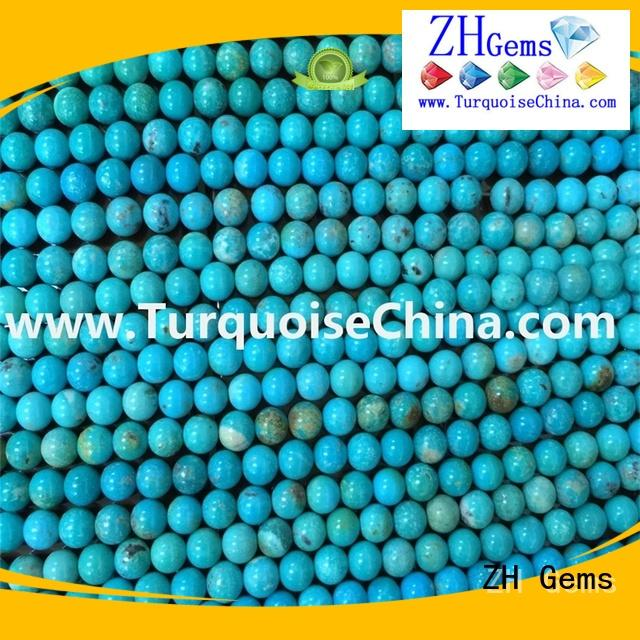 ZH Gems top quality round gemstone beads business for jewelry making