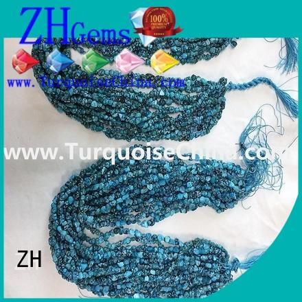 ZH turquoise chips supply for jewellery making
