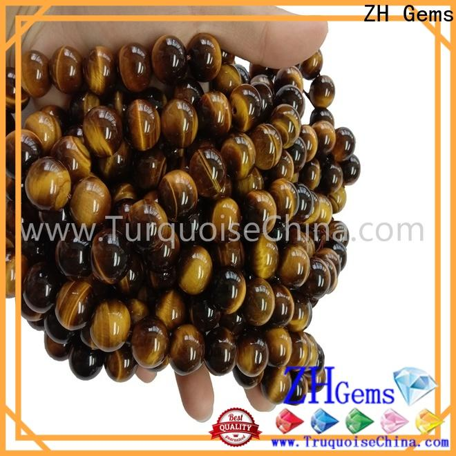 ZH Gems natural gemstones beads supply for ring