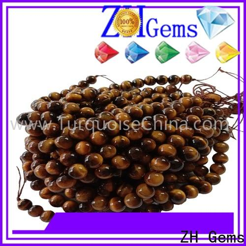 ZH Gems best gemstone beads online supply for earings