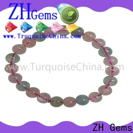 ZH Gems good quality gemstone bracelets professional supplier for jewelry industry