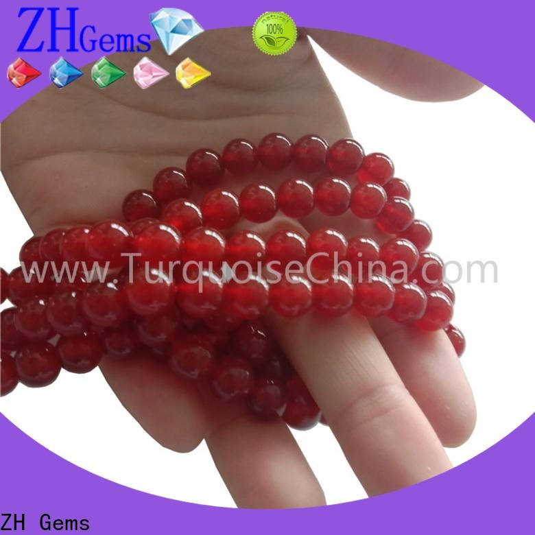 ZH Gems top quality gemstone beads strand supplier for ring