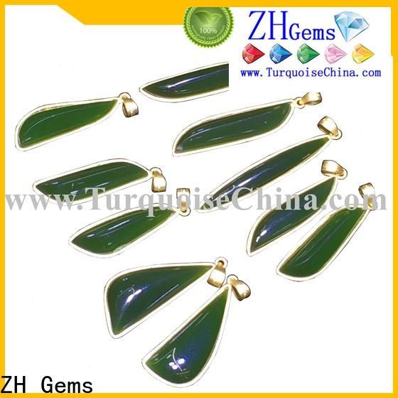 ZH Gems bulk gemstone pendants professional supplier for jewelry store