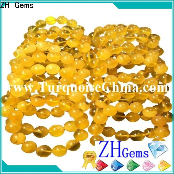 ZH Gems gemstone drops professional supplier for bracelet