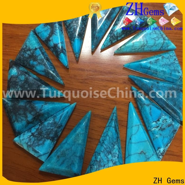 good quality cabochon triangle supply for earings