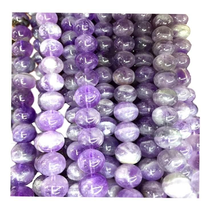 Purple Amethyst Bracelet Gemstone 8mm Beads Elastic Bracelet Purple Gemstone Bracelet Man/Woman/Beaded Jewelry/Gift