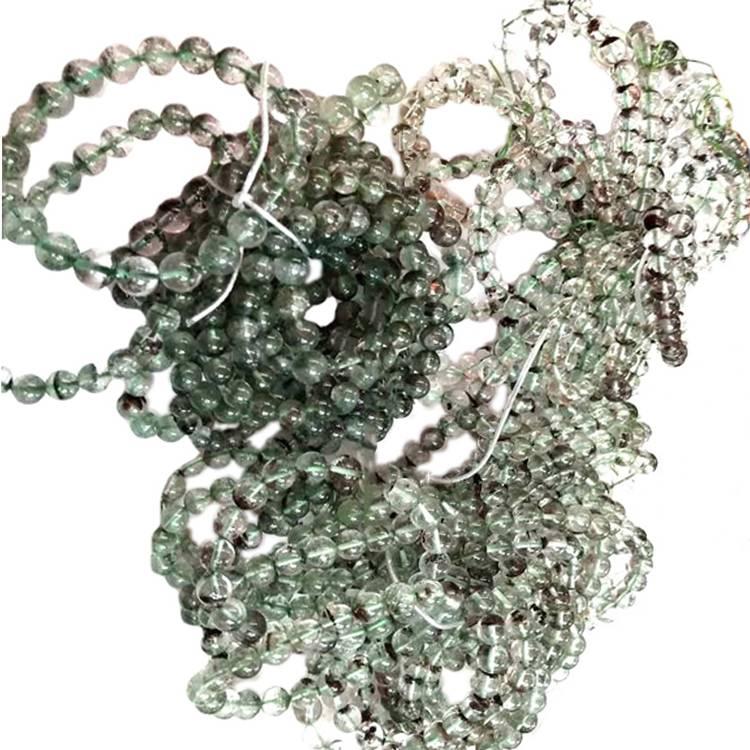 4mm 6mm 8mm 10mm12mm natural phantom quartz round beads strands