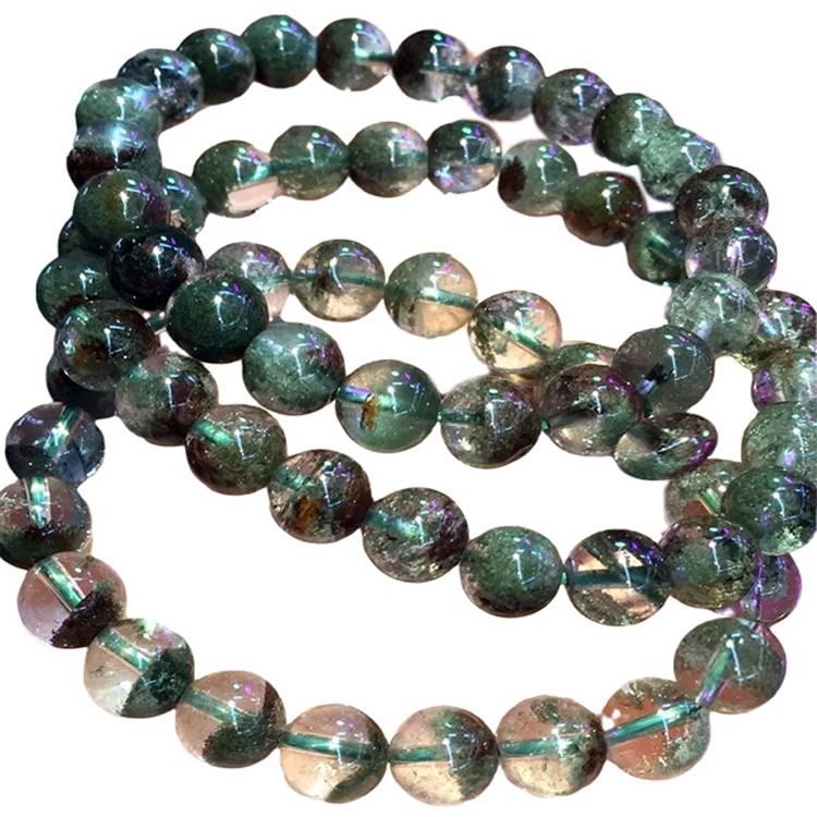 Ghost phantom quartz Crystal Bracelet Unisex jewellery gift for you family