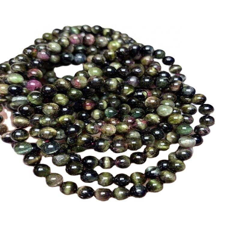 top quality Tourmaline Rubellite Apyrite bracelets tourmaline rubellite apyrite