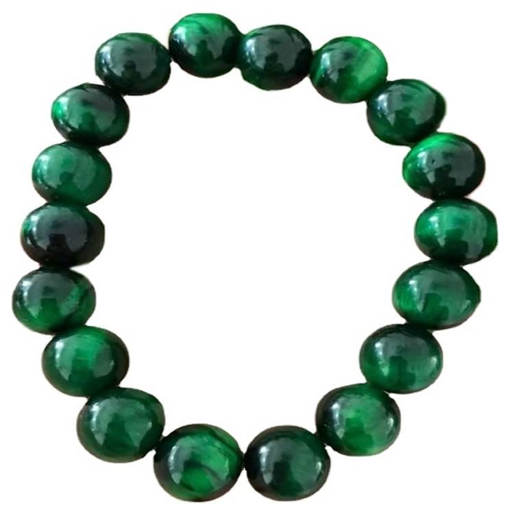 Green Tigereye Bracelet 8mm Beaded Bracelet Unisex Bead Bracelet