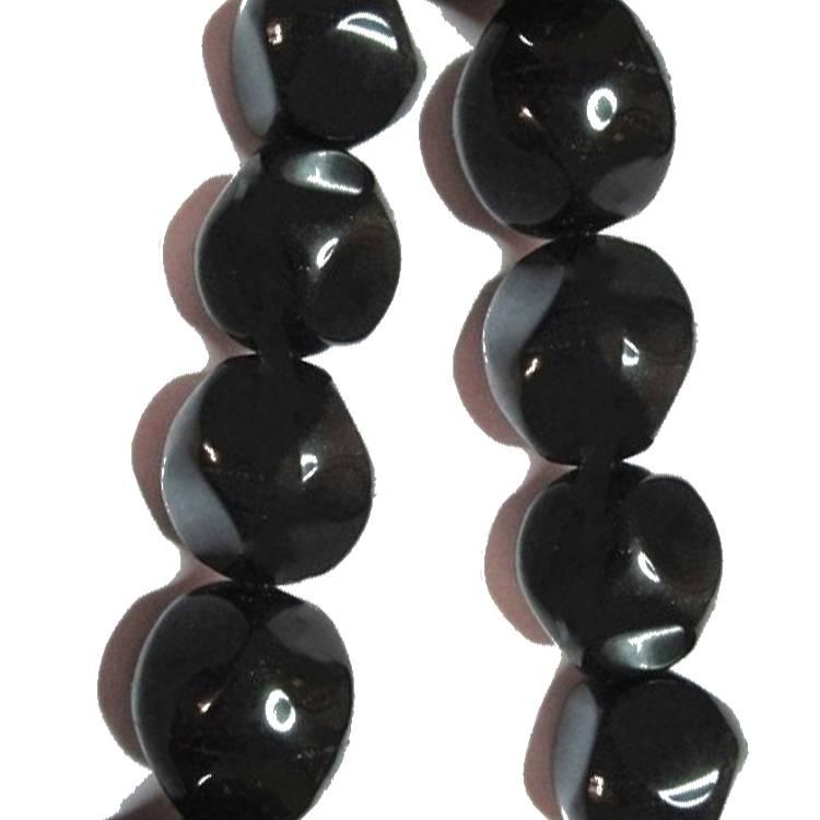 Black Onyx Coin & Button Beads mass quantity cheaper price make wholesale