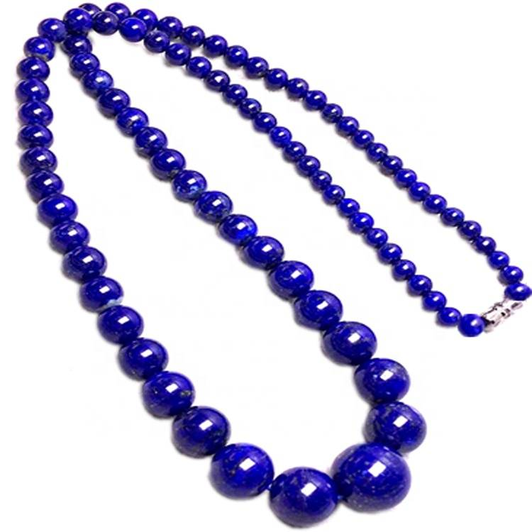 Natural lapis lazuli  Beads Necklace different style make wholesale