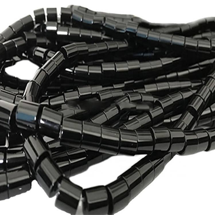 7x7x2.5mm customers order black agate heishi jewellery make wholesale