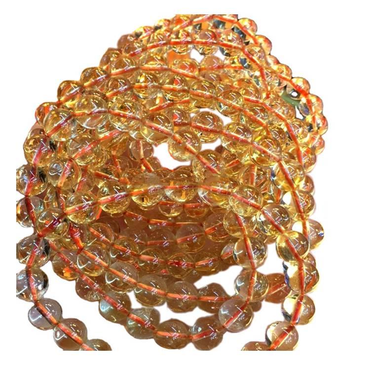 6mm 8mm 10mm round citrine Beads  gemstone loose beads
