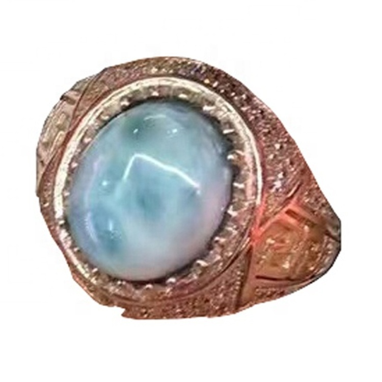 Fashion women's silver rings with amethyst diamond for sale