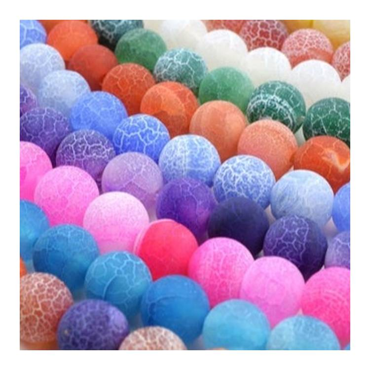 Crackle Agate Beads Agate round beads Full Strand Wholesale Gemstones