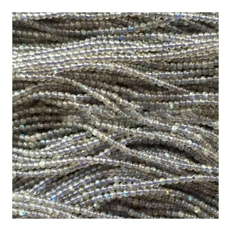 Translucent Gray Labradorite Beads Genuine Natural High Grade Gemstone Round Loose Beads 6MM 8MM 10MM Bulk Lot Options