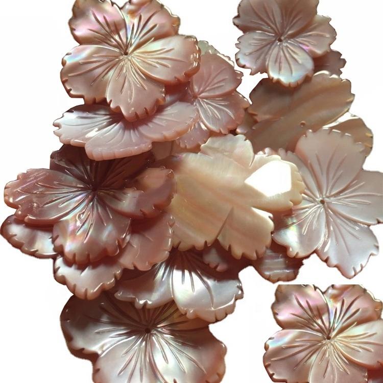 Blossom shape carved/Shell carved/Gift for mom