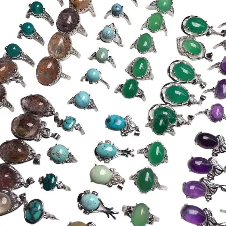 Hot-sale Magnificent Mixed Gemstone Colorful Cabochon For Wedding