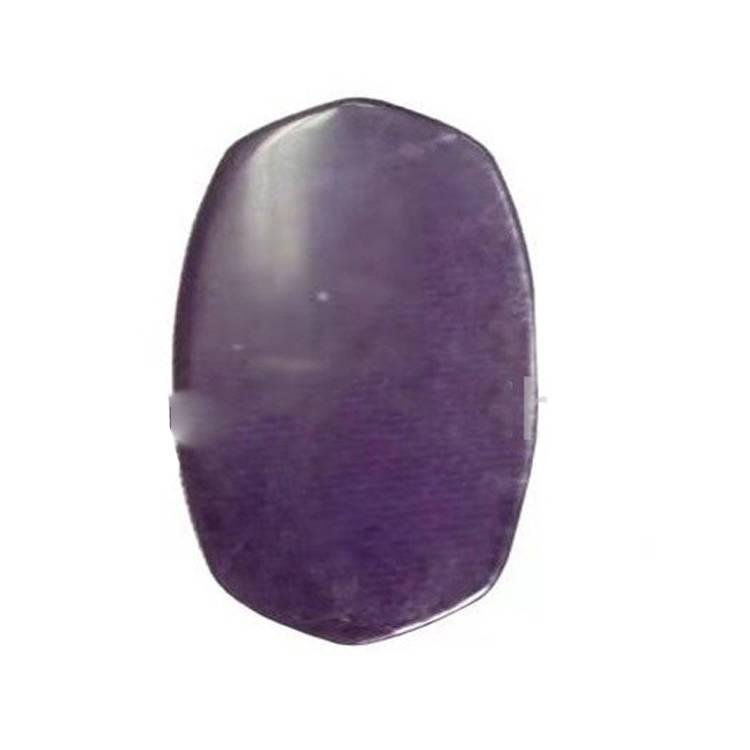 Purple Fluorite Oval Shape Cabochon For Making Pendant Dangler Jewelry