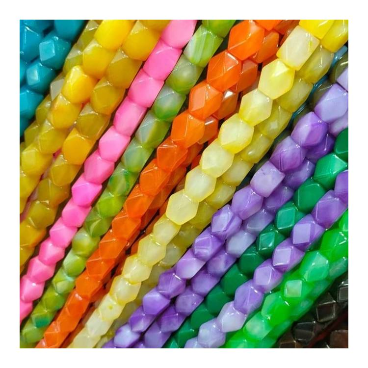 Natural Agate Gemstone Loose Beads 6mm 8mm 10mm Smooth Faceted Shape Beads