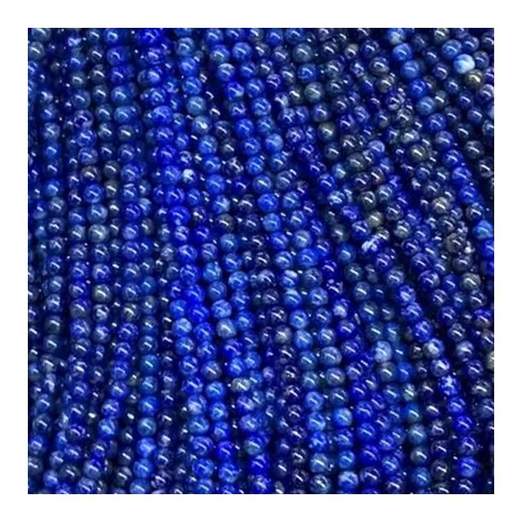 Natural Lapis Lazuli Gemstones Round Ball Spacer Loose Beads 6mm 8mm 10mm 16